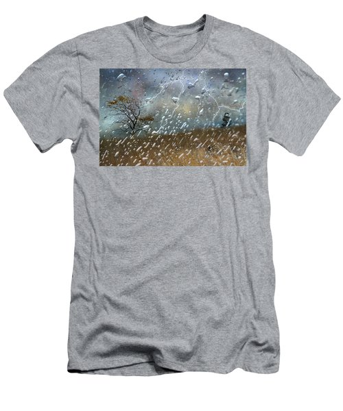 Shelter From The Storm Men's T-Shirt (Slim Fit) by Ed Hall