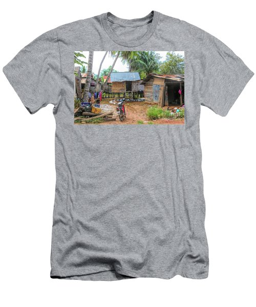 Shelter Home Cambodia Siem Reap I Men's T-Shirt (Athletic Fit)