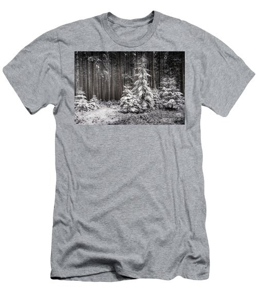 Men's T-Shirt (Slim Fit) featuring the photograph Sheltered Childhood by Hannes Cmarits