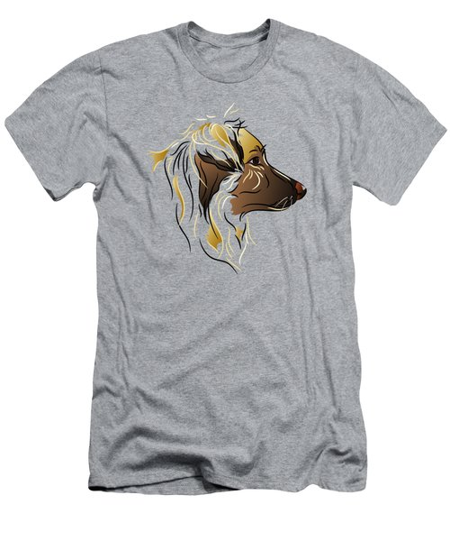 Shepherd Dog In Profile Men's T-Shirt (Athletic Fit)