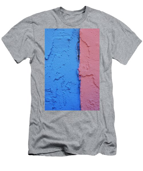 Men's T-Shirt (Slim Fit) featuring the photograph Sherbert Walls by Toni Hopper