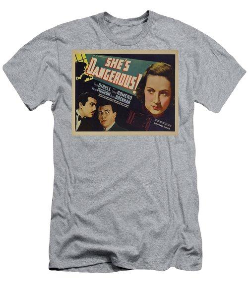 She's Dangerous 1937 Men's T-Shirt (Athletic Fit)