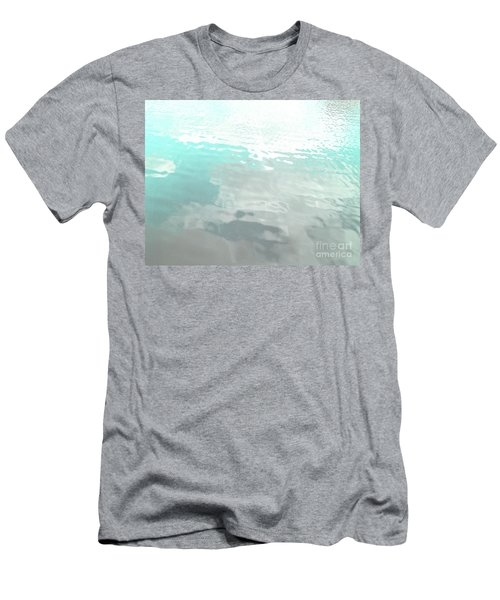 Let The Water Wash Over You. Men's T-Shirt (Slim Fit) by Rebecca Harman