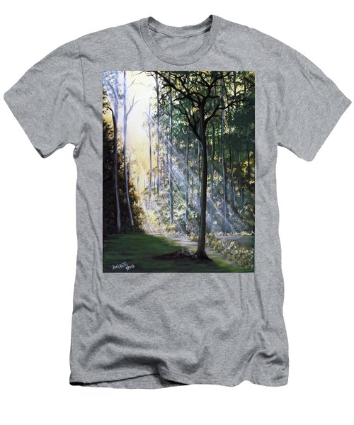 Shining Through Men's T-Shirt (Athletic Fit)