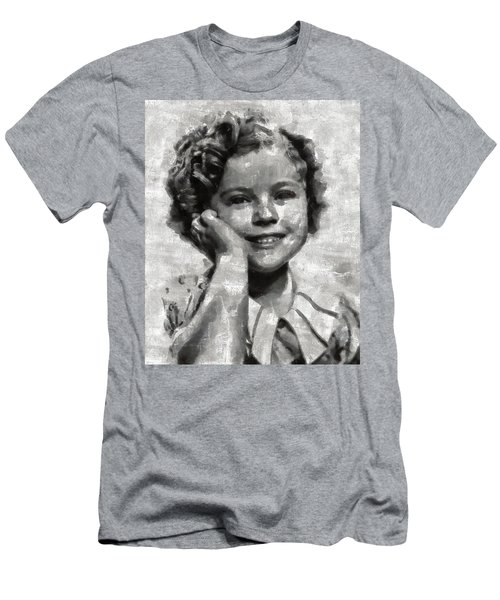 Shirley Temple By Mary Bassett Men's T-Shirt (Slim Fit) by Mary Bassett