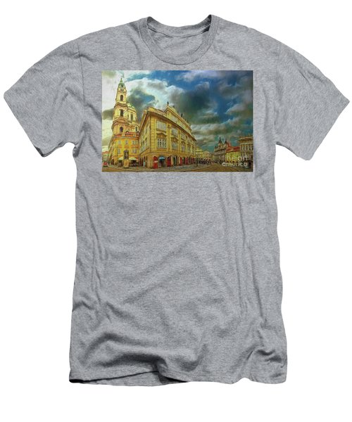 Shooting Round The Corner - Prague Men's T-Shirt (Athletic Fit)