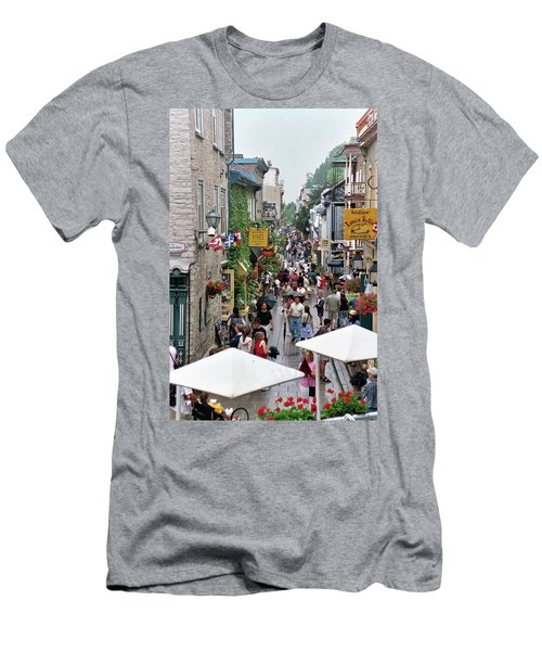 Men's T-Shirt (Athletic Fit) featuring the photograph Shop Till One Drops by John Schneider