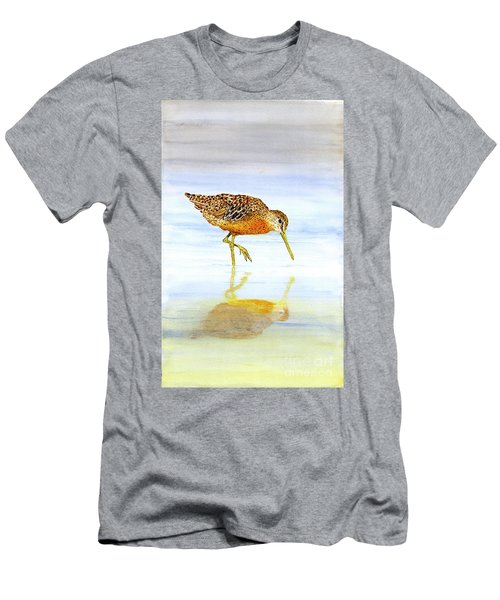 Short-billed Dowitcher Men's T-Shirt (Athletic Fit)