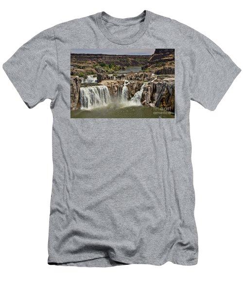Shoshone Falls Men's T-Shirt (Athletic Fit)