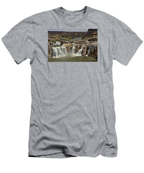 Shoshone Falls Men's T-Shirt (Athletic Fit)