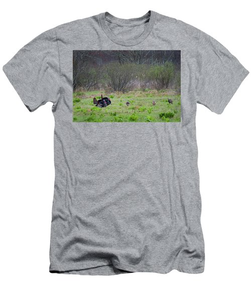 Men's T-Shirt (Slim Fit) featuring the photograph Showing Off by Bill Wakeley
