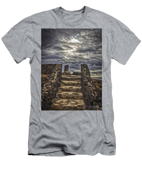 Men's T-Shirt (Slim Fit) featuring the photograph Shrine To Drowned Fishermen by Mitch Shindelbower