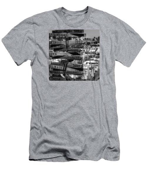 Show Me The Way... Men's T-Shirt (Athletic Fit)