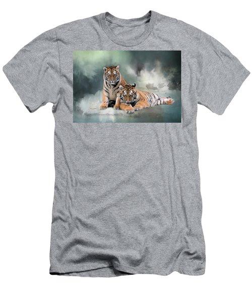 Siberian Twins Men's T-Shirt (Slim Fit)