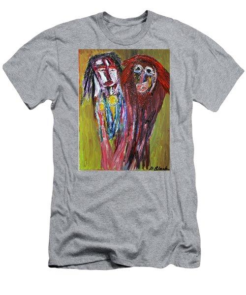 Siblings   Men's T-Shirt (Slim Fit) by Darrell Black