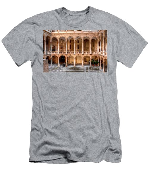 Sicilian Parliament Bldg Men's T-Shirt (Athletic Fit)