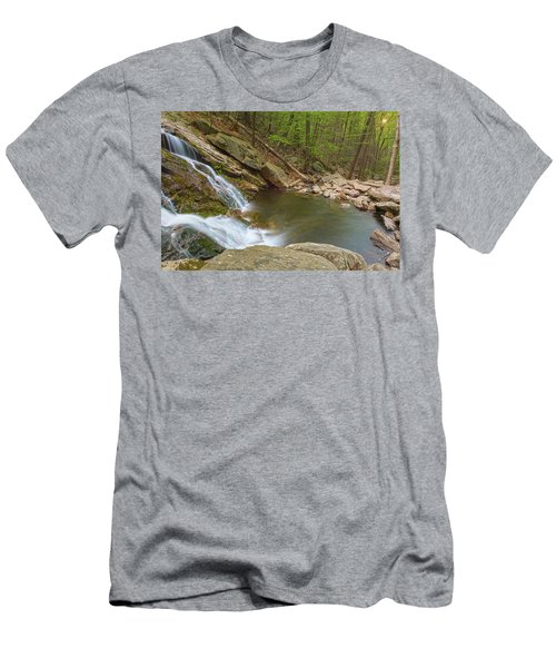 Side Slide Into The Pool Men's T-Shirt (Athletic Fit)