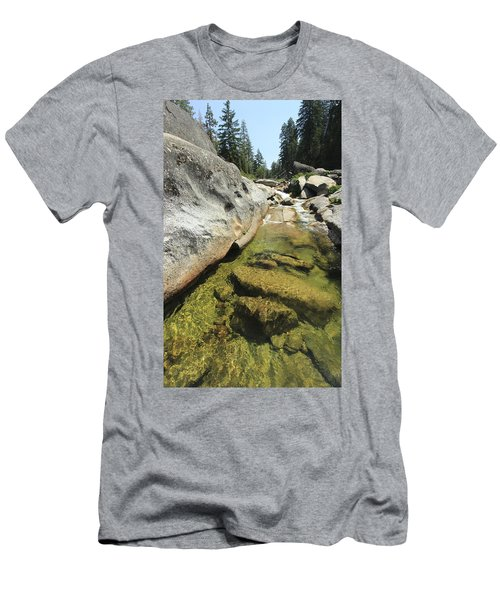 Men's T-Shirt (Athletic Fit) featuring the photograph Sierra Summer Flow by Sean Sarsfield