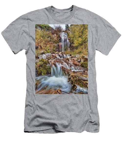 Sierra Waterfall Men's T-Shirt (Athletic Fit)