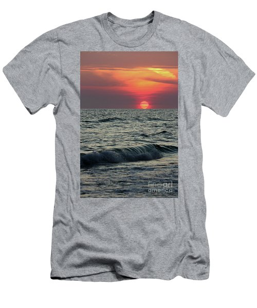 Men's T-Shirt (Slim Fit) featuring the photograph Siesta Key Sunset by Terri Mills