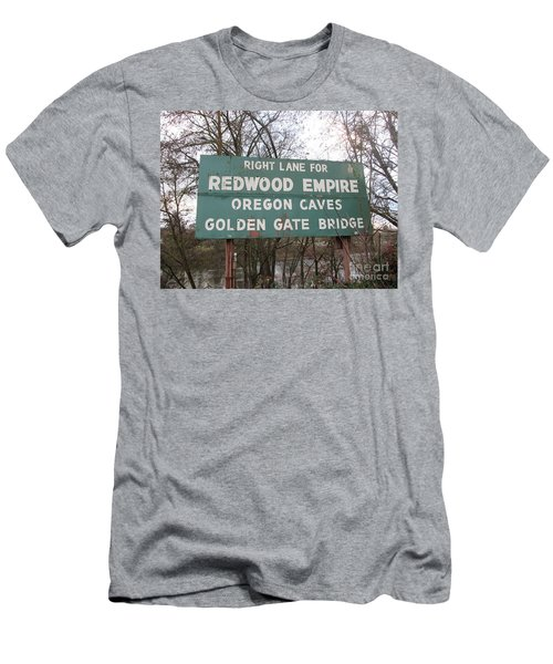 Sign In Grants Pass Oregon Men's T-Shirt (Athletic Fit)