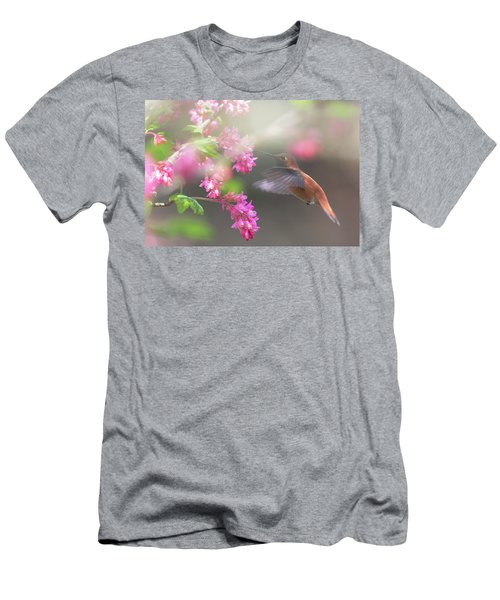 Sign Of Spring 2 Men's T-Shirt (Slim Fit) by Randy Hall