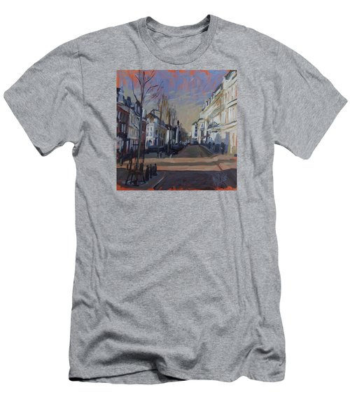 Men's T-Shirt (Slim Fit) featuring the painting Silence Before The Storm by Nop Briex