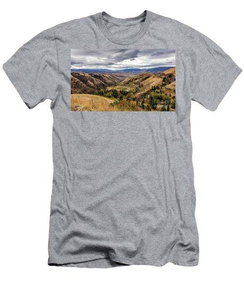 Silence Of Whitebird Canyon Idaho Journey Landscape Photography By Kaylyn Franks  Men's T-Shirt (Athletic Fit)