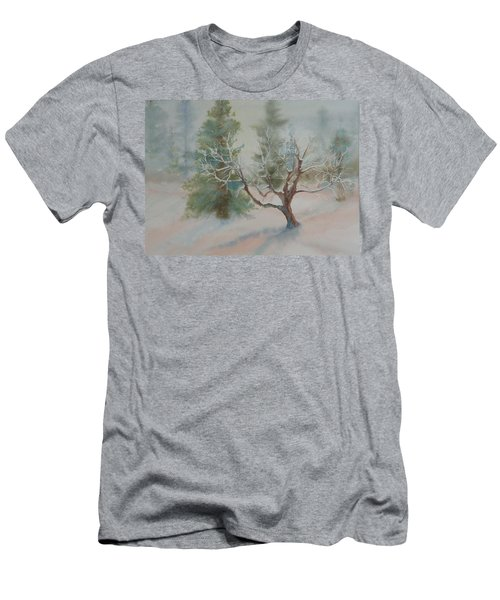 Silence Men's T-Shirt (Slim Fit) by Ruth Kamenev