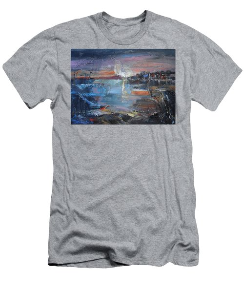 Silent Evening  Men's T-Shirt (Athletic Fit)
