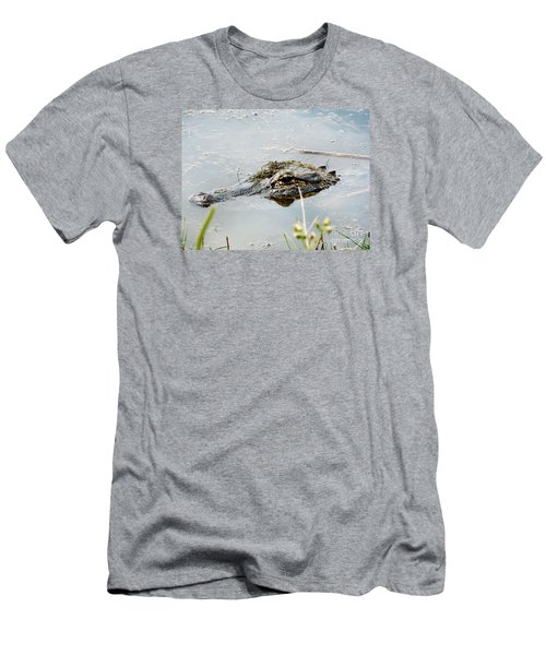 Silent Predator Men's T-Shirt (Slim Fit) by Audrey Van Tassell
