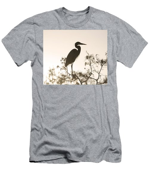 Silhouette In The Sunset Men's T-Shirt (Athletic Fit)