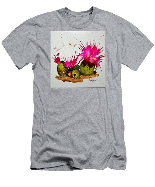 Silly Cactus Men's T-Shirt (Athletic Fit)