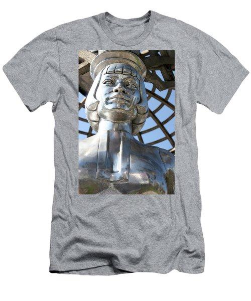 Silver Anna May Wong Men's T-Shirt (Athletic Fit)