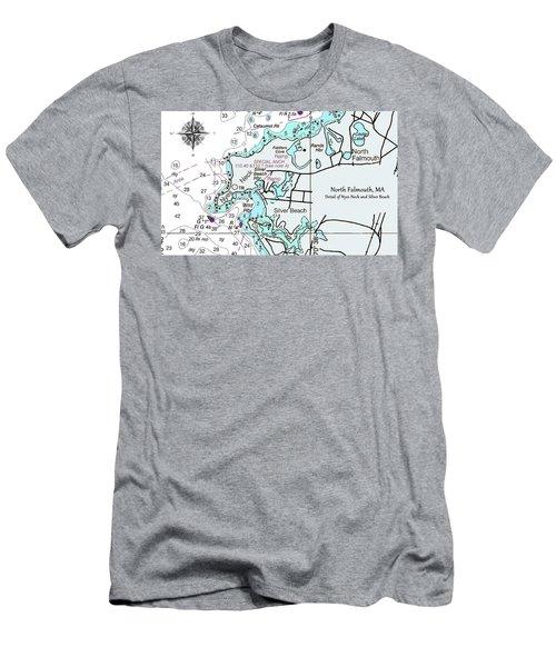 Silver Beach Men's T-Shirt (Athletic Fit)