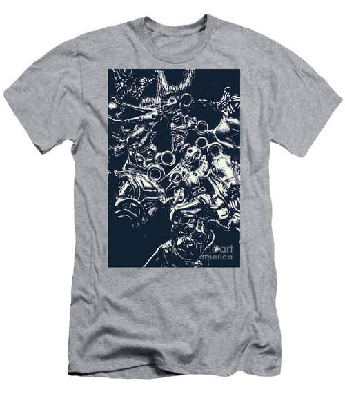 Silver Hounds Men's T-Shirt (Athletic Fit)