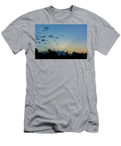 Silver Lining Men's T-Shirt (Athletic Fit)