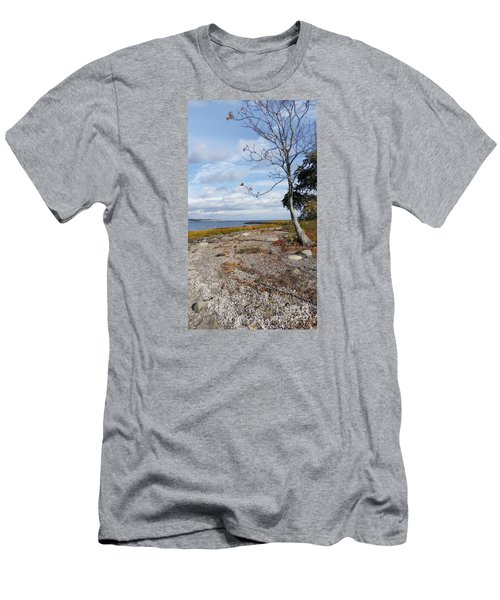 Men's T-Shirt (Slim Fit) featuring the photograph Silver Sands by Raymond Earley