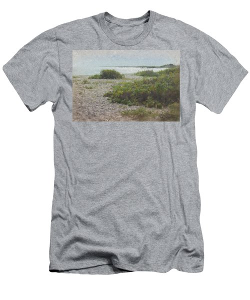 Silver Shoreline Westport Ma Men's T-Shirt (Athletic Fit)
