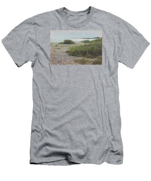 Silver Shoreline Westport Ma Men's T-Shirt (Athletic Fit)