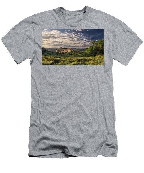 Simi Valley Overlook Men's T-Shirt (Slim Fit) by Endre Balogh