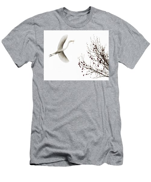 Men's T-Shirt (Athletic Fit) featuring the photograph Simplicity by Melinda Hughes-Berland