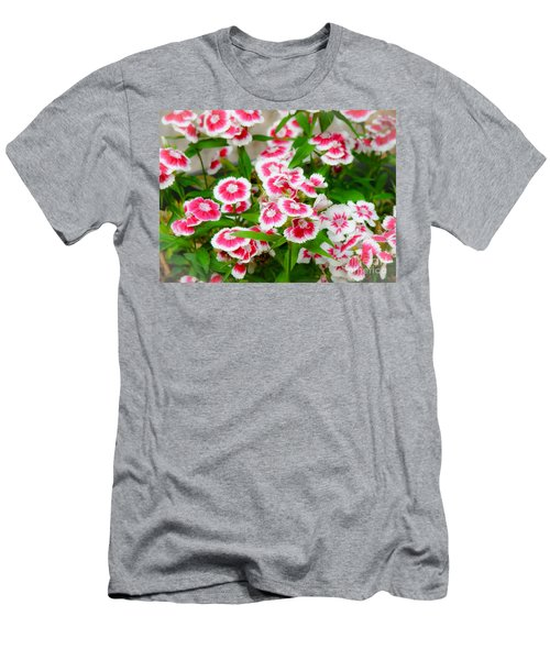 Simply Flowers Men's T-Shirt (Slim Fit) by Rand Herron