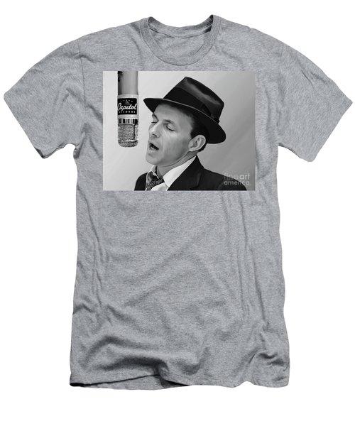 Sinatra Men's T-Shirt (Slim Fit) by Paul Tagliamonte