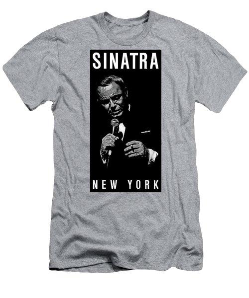 Sinatra Wout Sig Men's T-Shirt (Slim Fit) by Dan Menta