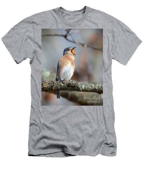 Singing This Song For You Men's T-Shirt (Slim Fit) by Amy Porter