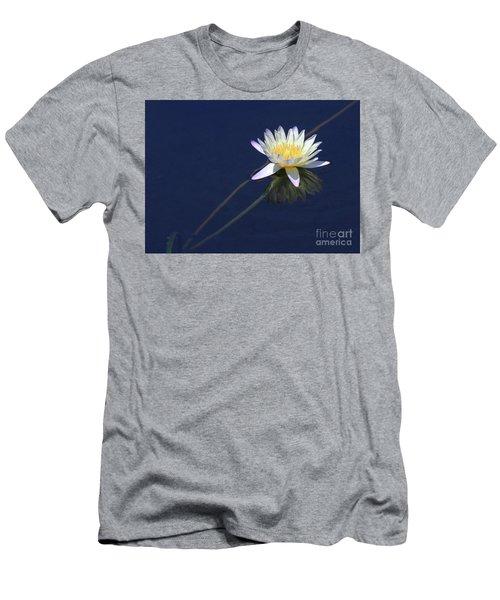 Single Lotus Men's T-Shirt (Athletic Fit)