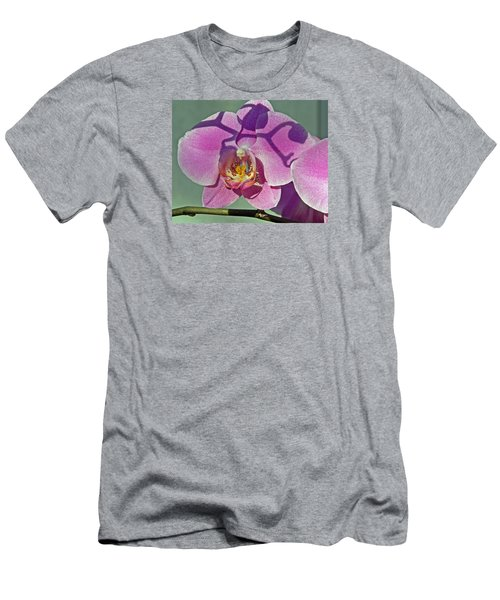 Men's T-Shirt (Slim Fit) featuring the photograph Singular Beauty by Lynda Lehmann