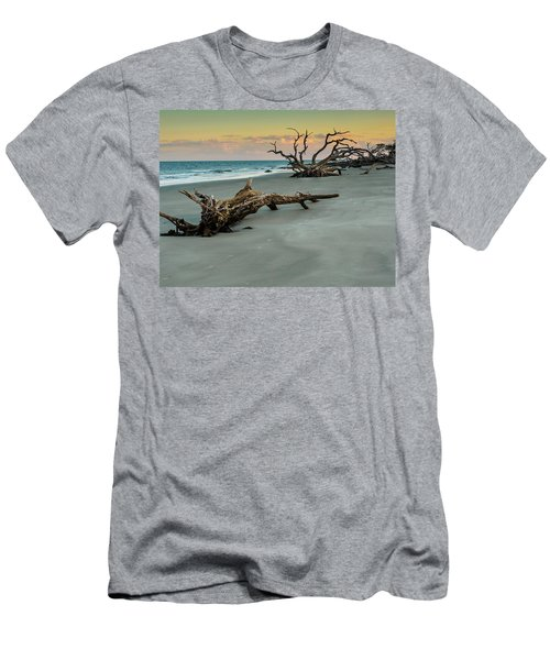 Sunset On Jekyll Island Men's T-Shirt (Athletic Fit)