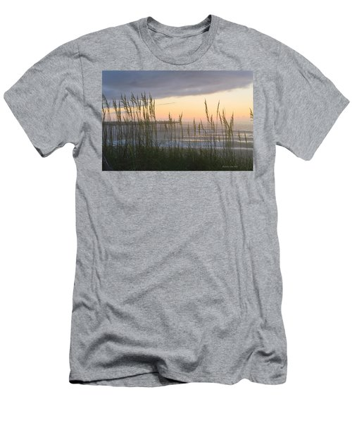 Men's T-Shirt (Athletic Fit) featuring the photograph Sixth Of July Sunrise by Barbara Ann Bell